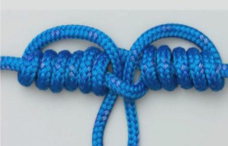 קשר דרופר לבולוס מסירה – Dropper loop knot