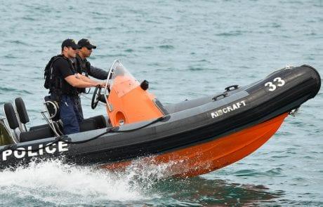 דייג סירב להפסיק את הדיג ואיים על השוטרים (אשקלונים)