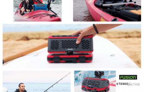 """גרמין ישראל: """"חדש! רמקול נייד ליום הדיג שלך. מוקשח ומוגן מים"""""""