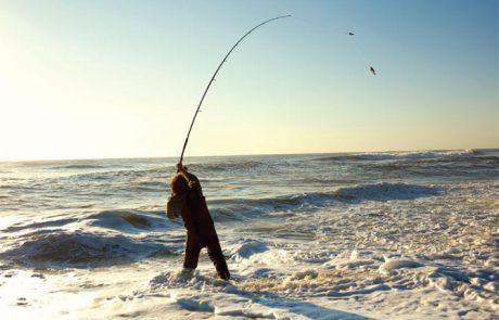 """סלבה: """"תחרות זוגות לדיג חופי בחוף פולג בנתניה"""""""