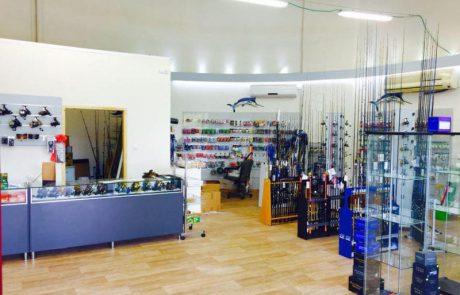 החנות Octopus ציוד דיג וצלילה נפתחה מחדש בראשון לציון