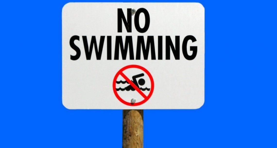 """הסרת אזהרת הרחצה בחוף הנפרד (תחנה מס' 6) בראשל""""צ"""