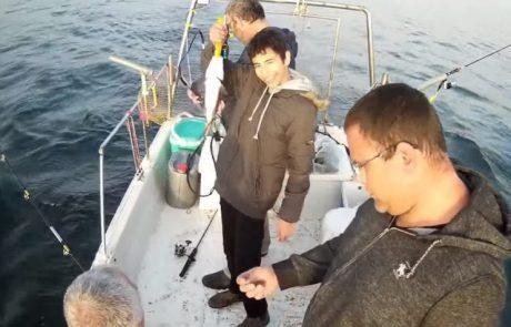 """עמית משני דייגים: """"חוויה אדירה ובתור אבא לראות את הבן תופס פעם ראשונה על סירה חוויה כפולה"""""""