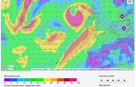 שיעור 1 – הקשר בין רוח וגלים …טיפים לחיזוי גובה הגלים